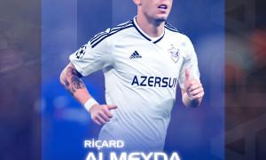 Richard Almeida signs for Qarabağ FK until 2022