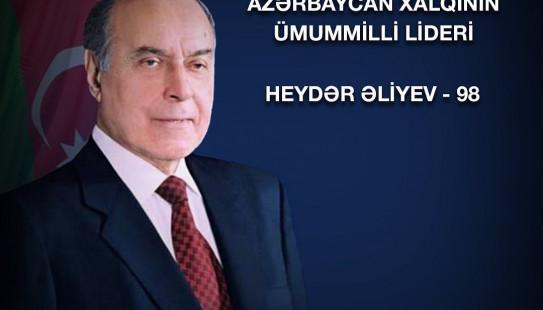 10 May - Ümummilli Lider Heydər Əliyevin doğum günüdür
